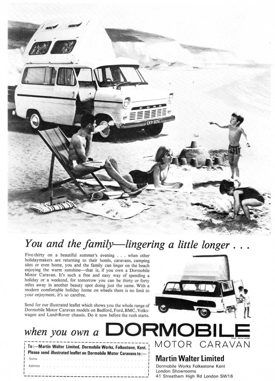 Dormobile Advertising The Brand