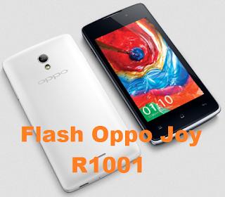 Cara Flash Oppo Joy R1001 Via Flashtool