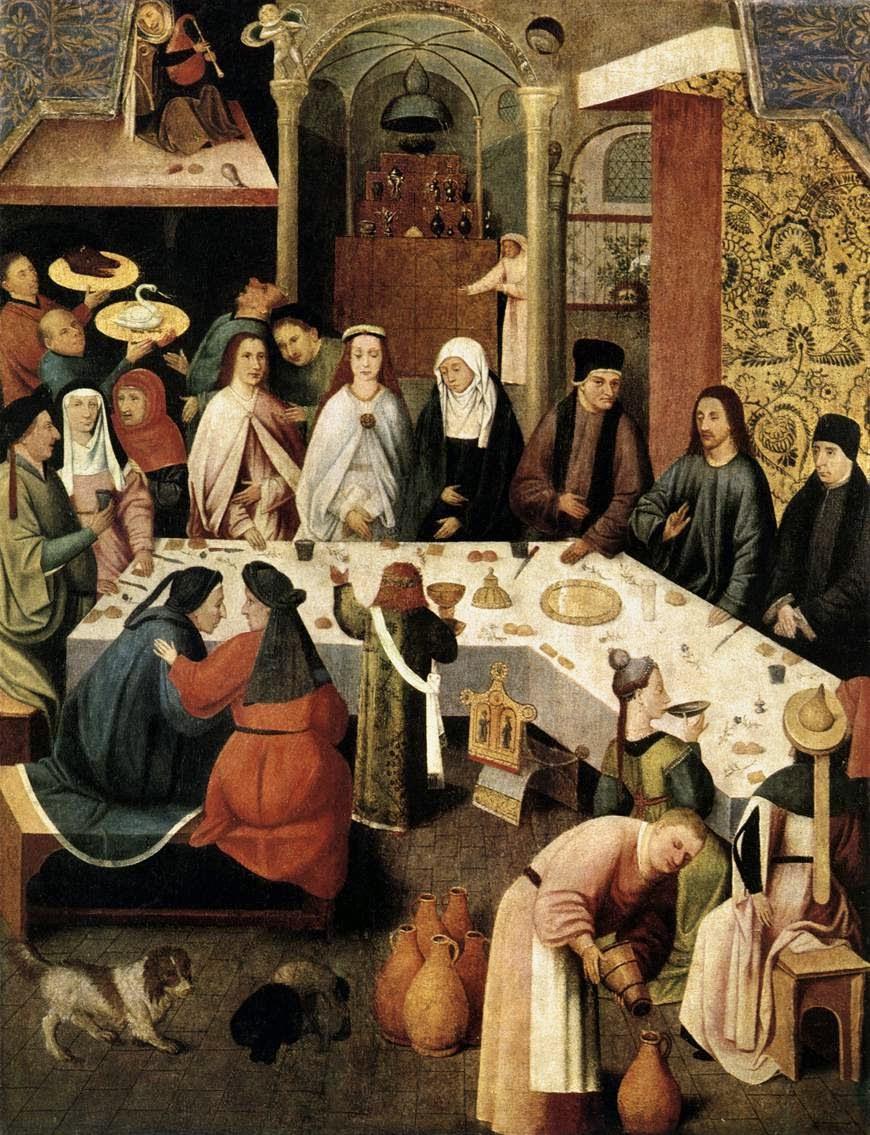 Festa de Casamento em Caná - Bosch, Hieronymus e suas principais pinturas