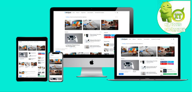 Download Premium LiteSpot Blogger Template Free (No Footer)