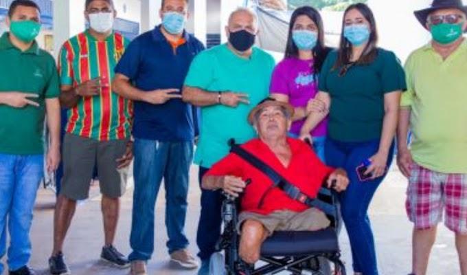 Inclusão Social | Gesto de solidariedade emociona família e amigos de cadeirante em Aldeias Altas