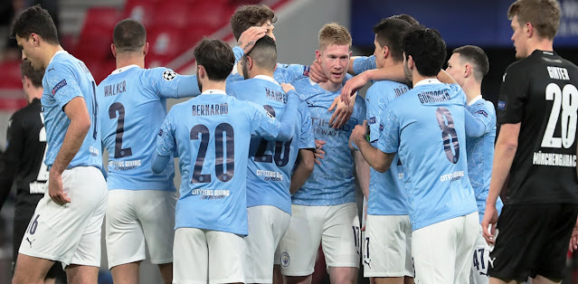 Manchester City vs Borussia M'gladbach Highlights