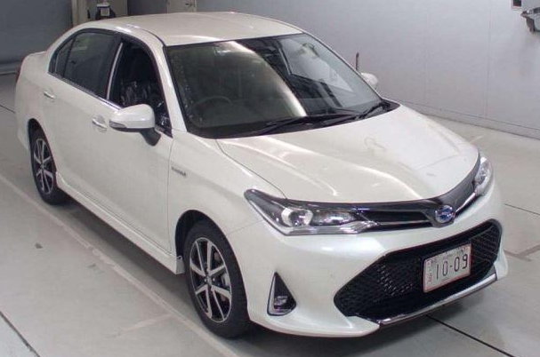 Toyota Axio 2019 front View