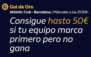 william hill Gol de Oro Athletic vs Barcelona 6-1-2021