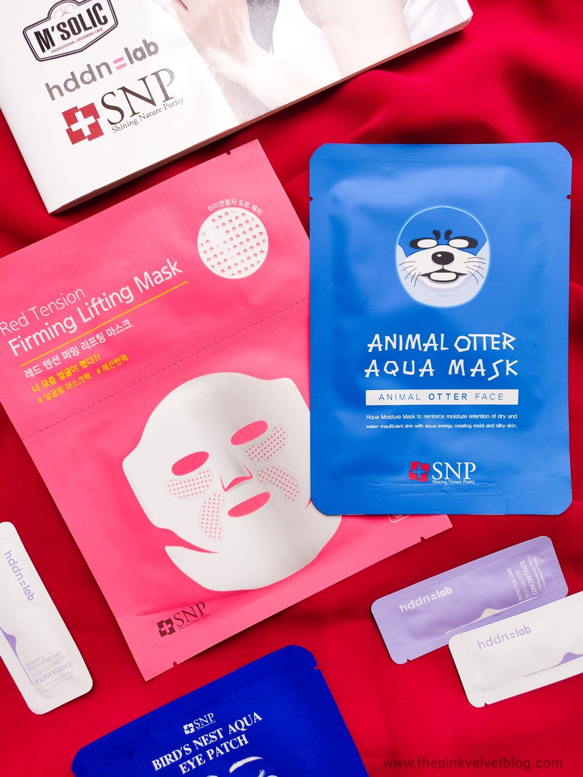 SNP Cosmetics (Korean Skincare Brand) Animal Print Sheet Mask