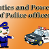 Duties and Powers of Police officer