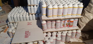 क्राइम ब्रांच की नकली रसायनिक खाद एवं कीटनाशक दवाईयों के कारखाने पर रेड