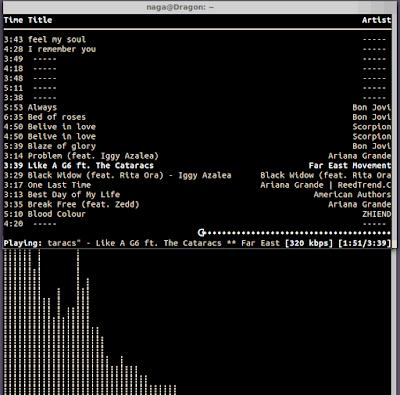 Cara Install Ncmpcpp dan Mpd di Ubuntu, Putar Musik Lewat Terminal