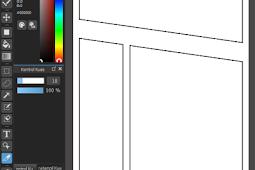 Cara membuat panel komik dengan cepat dan rapih di Medibang Paint PC