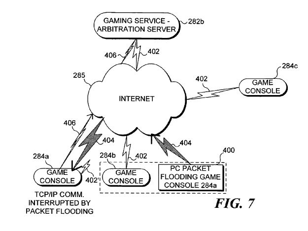U S  Patent No  7,584,154: Arbitration of online game