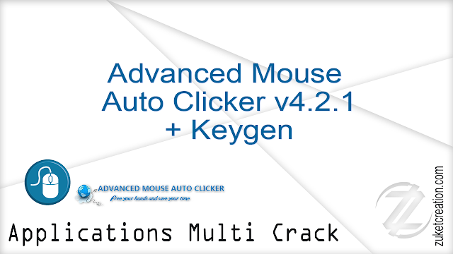 Advanced Mouse Auto Clicker v4.2.1 + Keygen |  1.00 MB