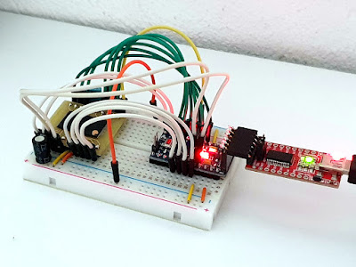 Dump data from NAND flash with Arduino