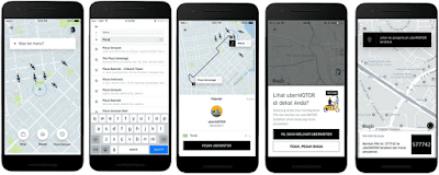 Kode PIN HOP ON Aplikasi UBER
