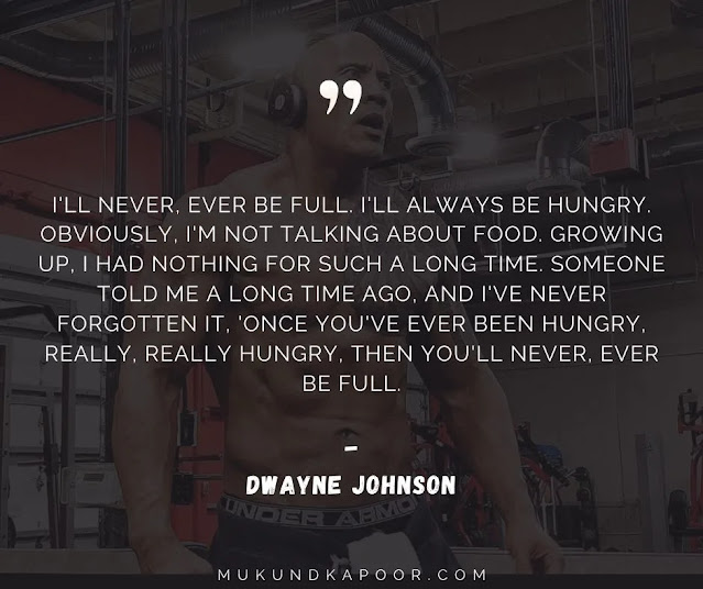 best dwayne johnson quotes