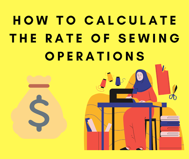 rate of sewing operation