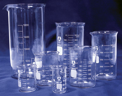 borosilicate glass in laboratory