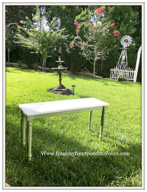 Ikea Table Makeover-Farmhouse Style-Cottage Style-DIY-From My Front Porch To Yours
