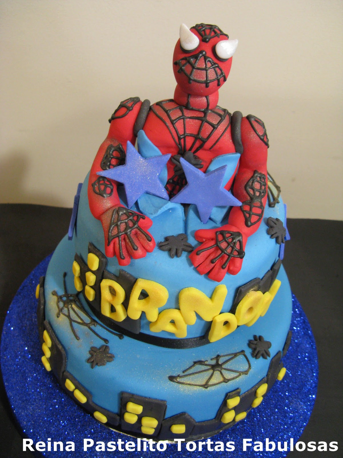 Reina Pastelito Cupcakes Tortas Torta Spiderman