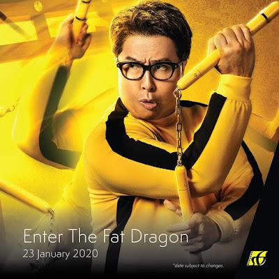 Senarai Filem Yang Akan Keluar di Panggung Wayang Tahun 2020 - Enter the Fat Dragon (2020)