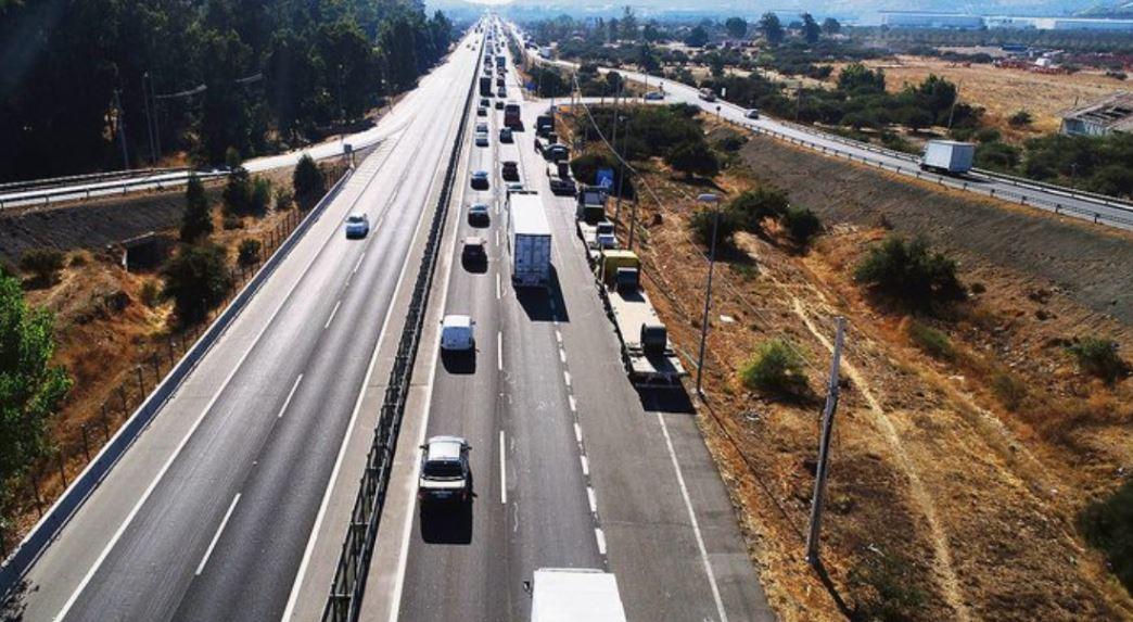 Esperan recibir más de 173 mil vehículos en Valparaíso