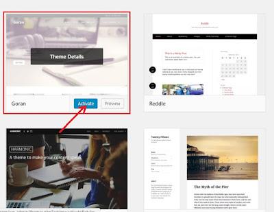 Cara Mengganti Template Wordpress