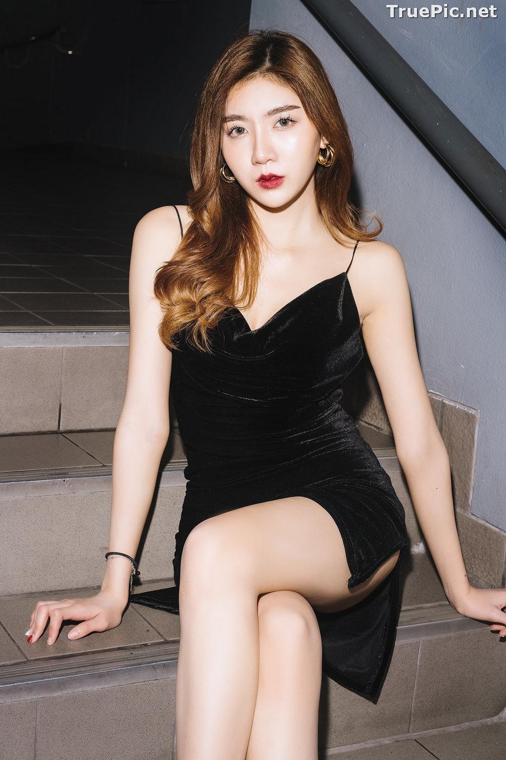 Image Thailand Model - Sasi Ngiunwan - Black For SiamNight - TruePic.net - Picture-34