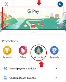 Play the Go India game on Google Pay