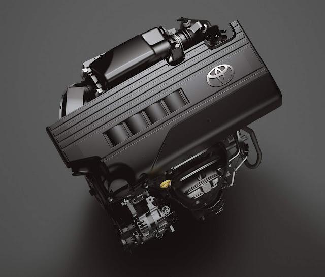 Novo Toyota Yaris 2018 - motor