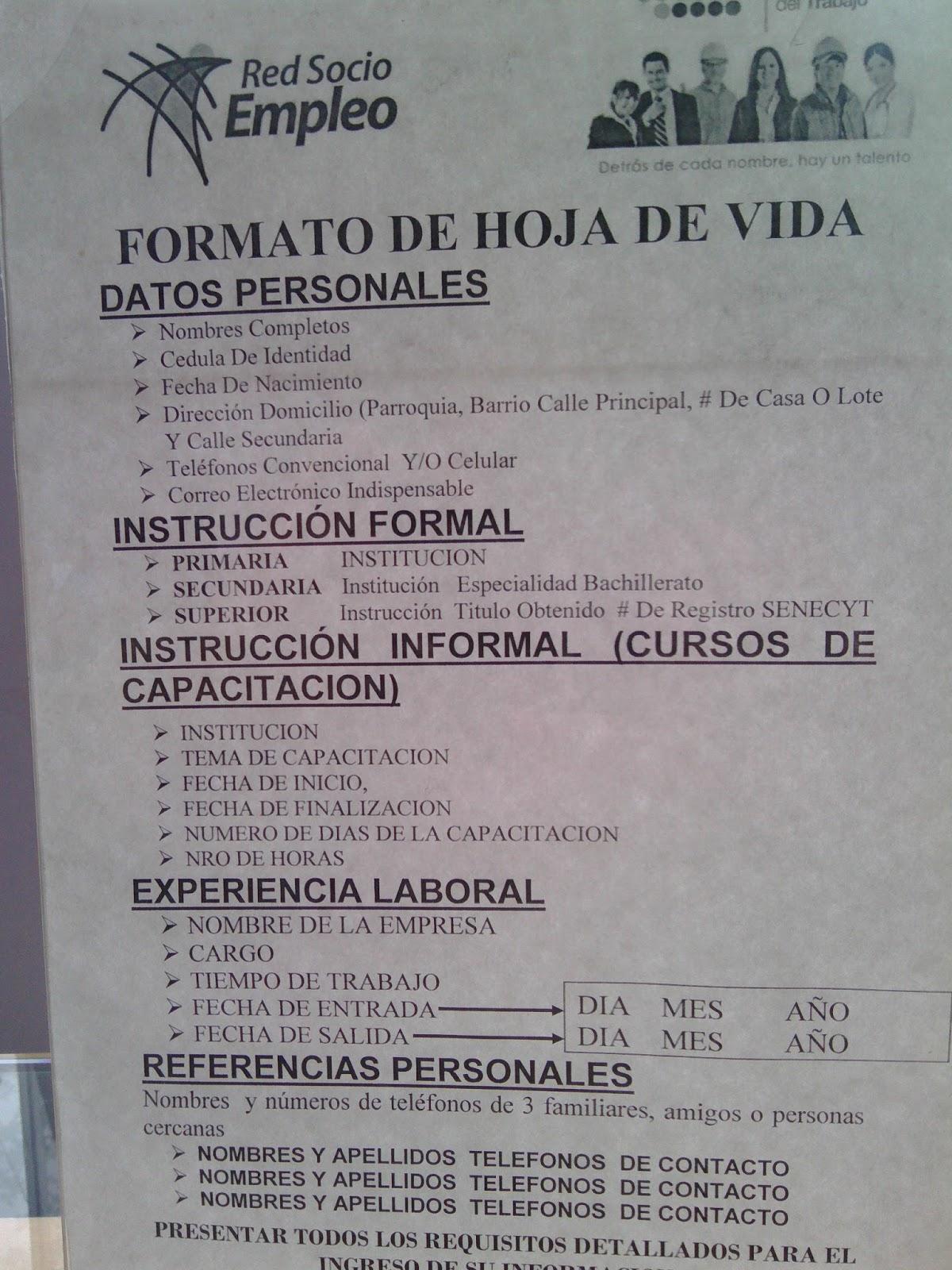 Trámites y Recomendaciones para Vivir y Trabajar en Ecuador: Empleo ...