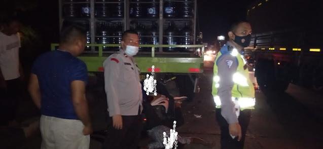 Kecelakaan Maut di Depan Kinasih Resort Caringin, 1 Korban Tewas di TKP