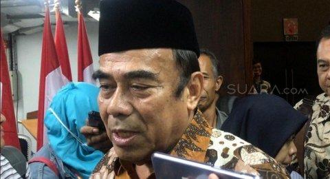 Bom Bunuh Diri di Medan, Menag Fachrul Enggak Berani Komen