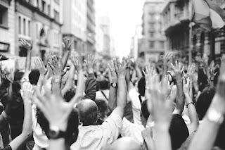 unjuk rasa/demonstrasi untuk Kudeta