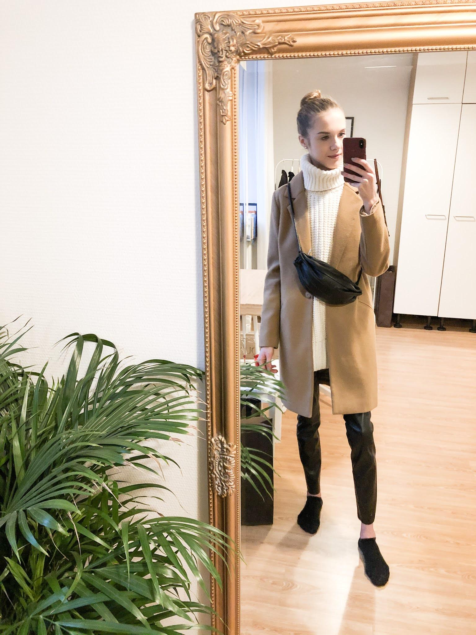 Kuinka pukea neuleliivi // How to wear knitted vest