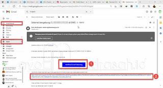 Email verifikasi registrasi emis
