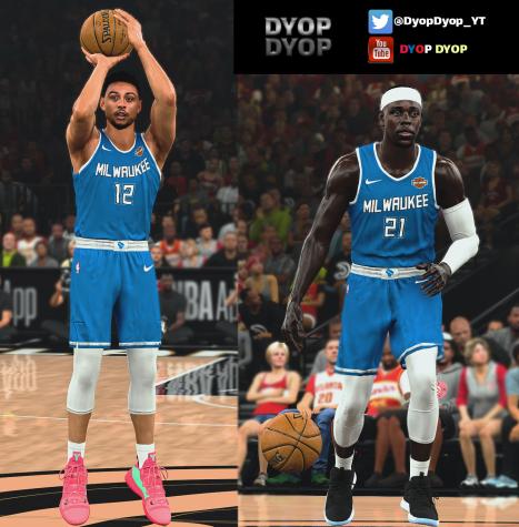 Milwaukee Bucks (MIL) Leaked 'Blue' 2020-2021 City Jersey ...