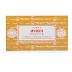 Incenso Sai Baba Nag Champa Mirra Satya Caixa 15g - Aromaterapia -