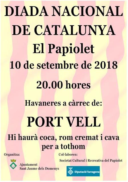 Esguard de Dona - Diada Nacional de Catalunya - Sant Jaume dels Domenys - El Papiolet - 10 09 18 - a les 20.00 hores