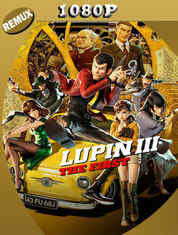 Lupin III: The First (2019) 1080p REMUX Latino [GoogleDrive] [tomyly]