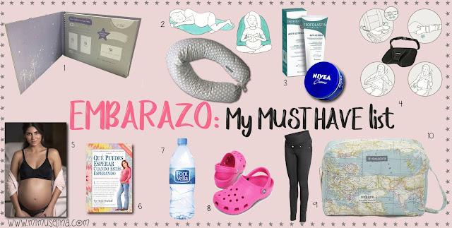 mimuselina blog qué necesita una embarazada must have lista de imprescindibles