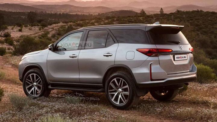 Toyota Fortuner 2020 bản nâng cấp ngoại hình sẽ ra mắt vào ngày 4/6 tới