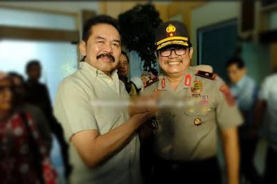 Wakapolda Jambi Antarkan Keberangkatan Pulang Jaksa Agung ST Burhanuddin Ke Bandara Sultan Thaha