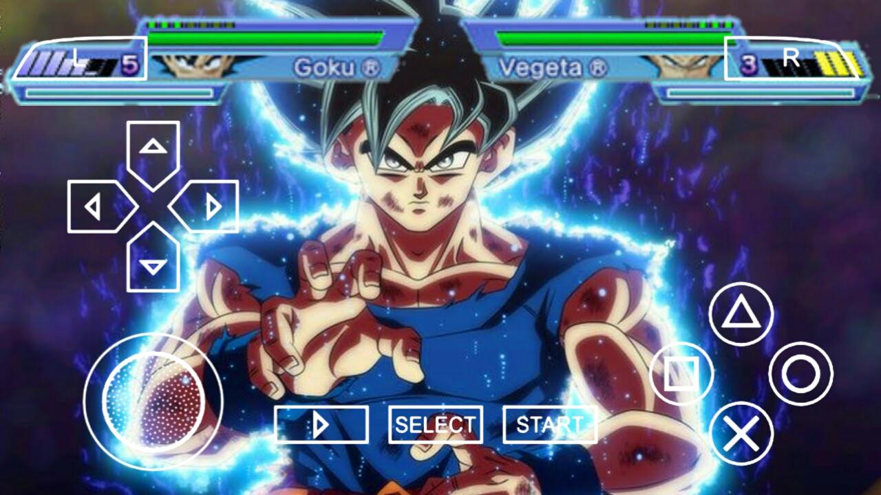 Dragon Ball Z Shin Budokai 7 Psp Download 300 Mb