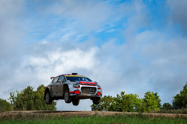 Citroen C3 R5 Rally Car