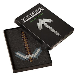 Minecraft ThinkGeek Iron Pickaxe Bottle Opener Gadget