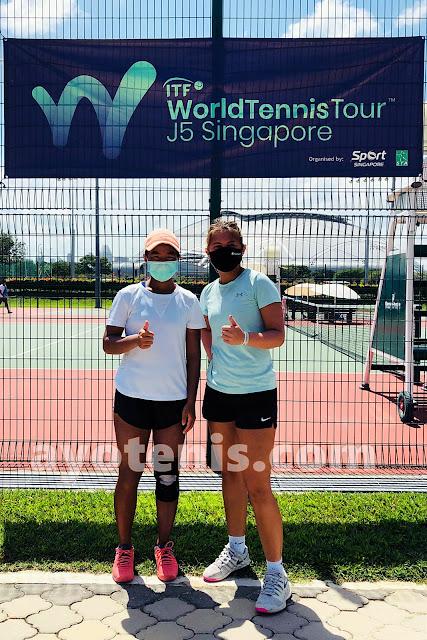 Atlet-Atlet Junior Indonesia Dominasi Final Turnamen Singapore ITF Junior Championship (II) 2021