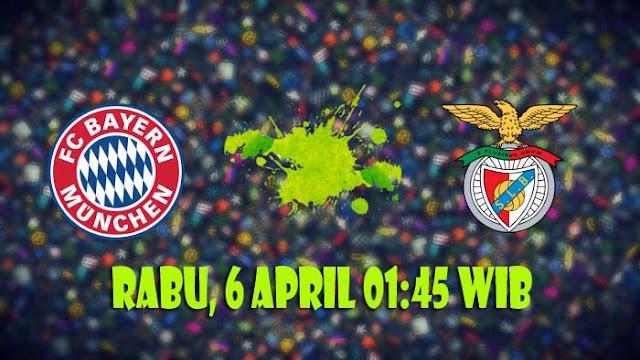 Prediksi Lengkap Bayern München vs Benfica 6 April 2016