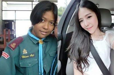 Transformasi Orang-Orang Thailand Jadi Cantik Ini Bikin Pangling! No. 9 Jantungan!