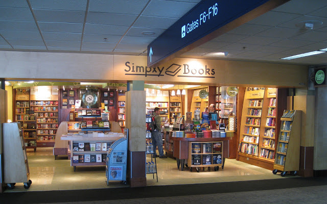 book store at airport