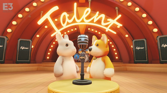 Party Animals Talent microphone Xbox E3 2021