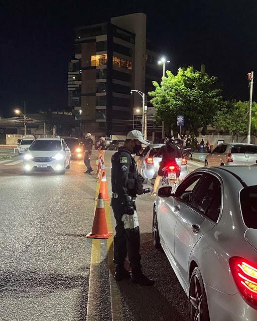 Operação Lei Seca autua 87 motoristas por embriaguez ao volante em Natal